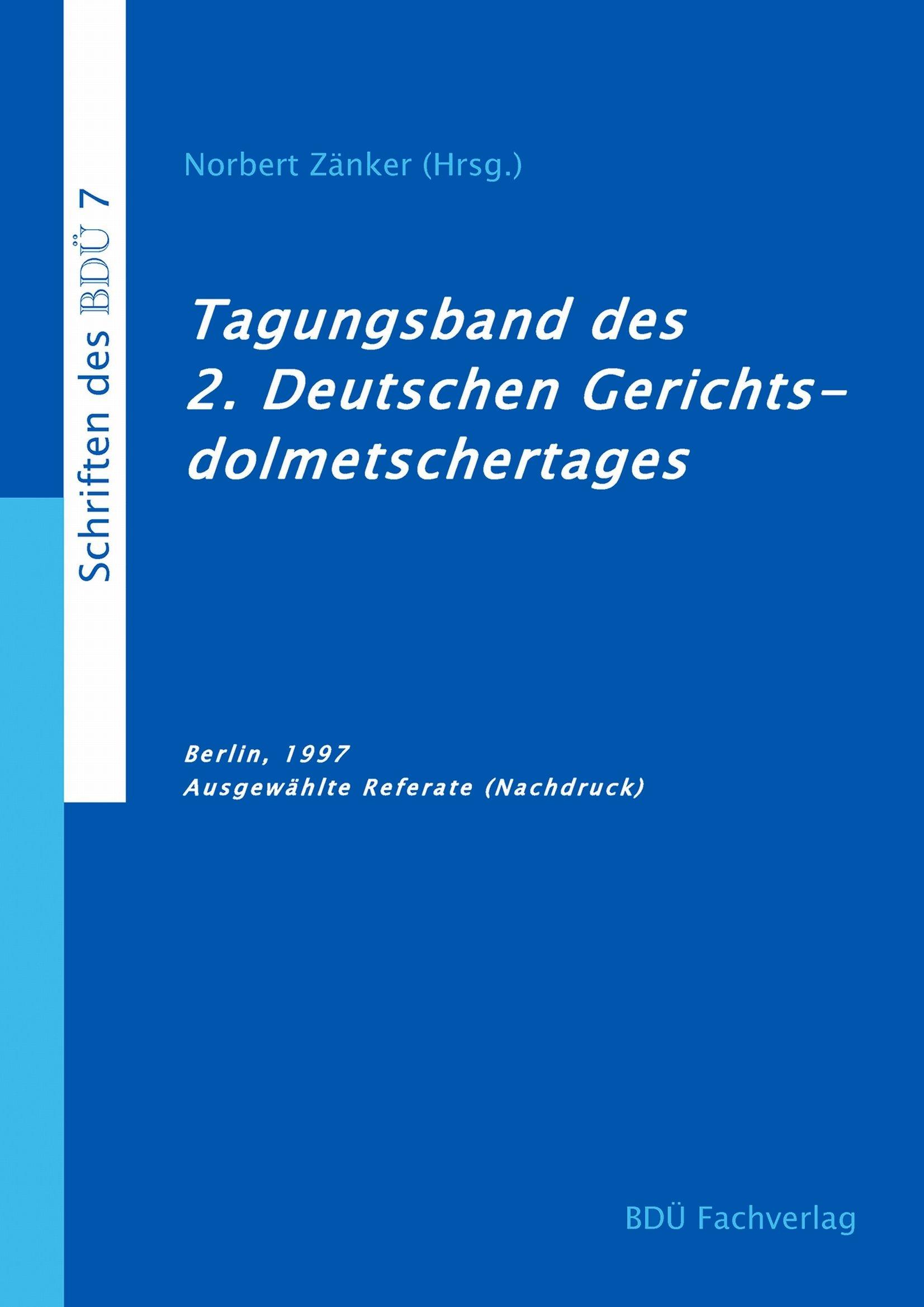 2. Deutscher Gerichtsdolmetschertag