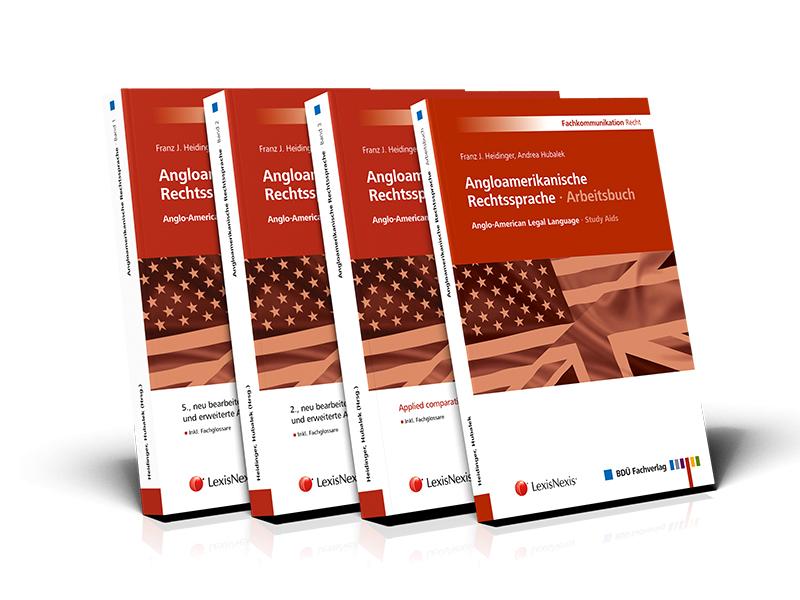 Angloamerikanische Rechtssprache · Band 1, 2, 3 und Arbeitsbuch