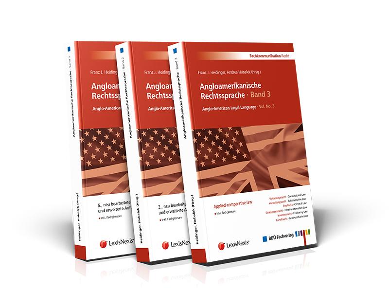 Angloamerikanische Rechtssprache · Band 1, 2 und 3