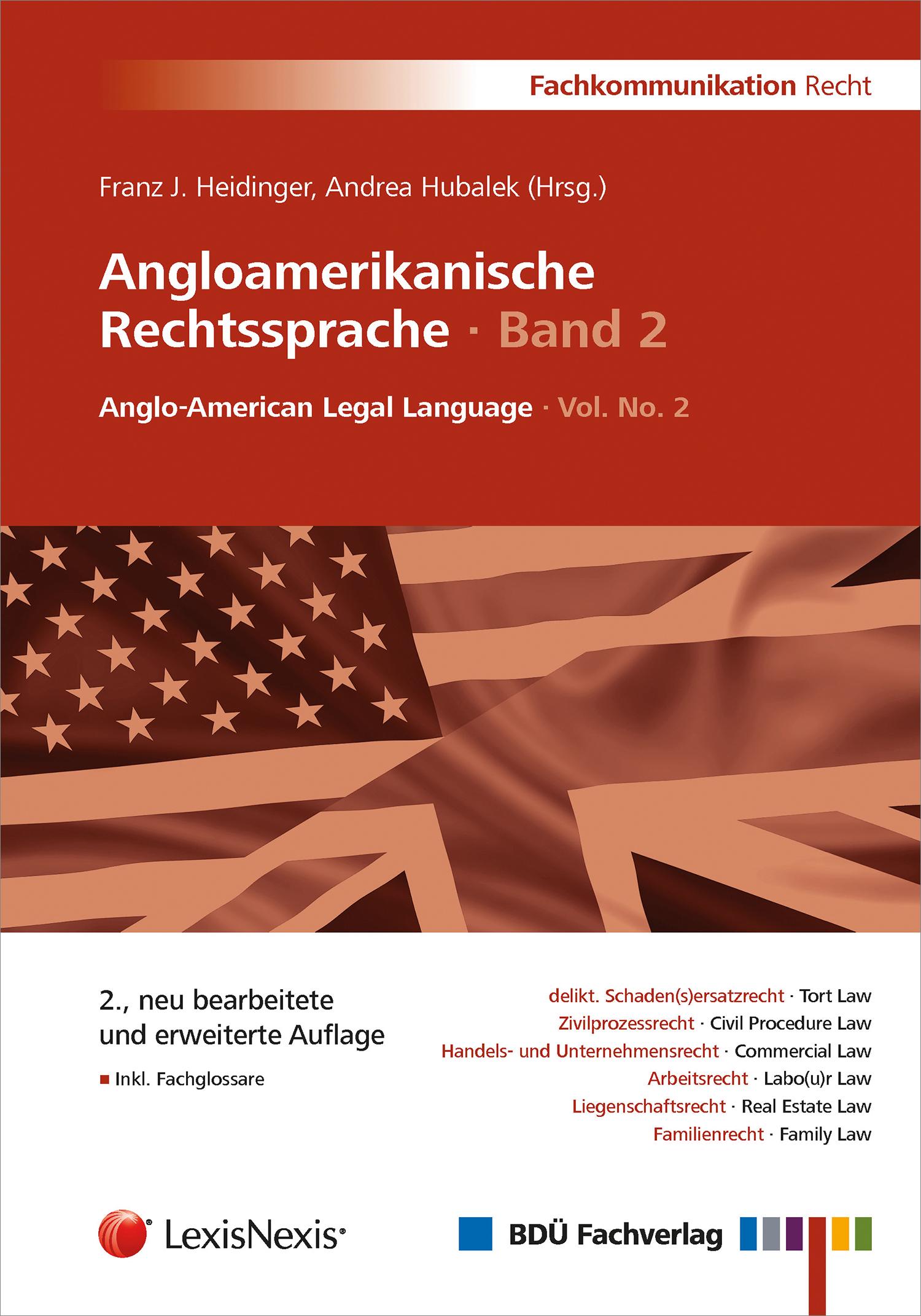 Angloamerikanische Rechtssprache · Band 2