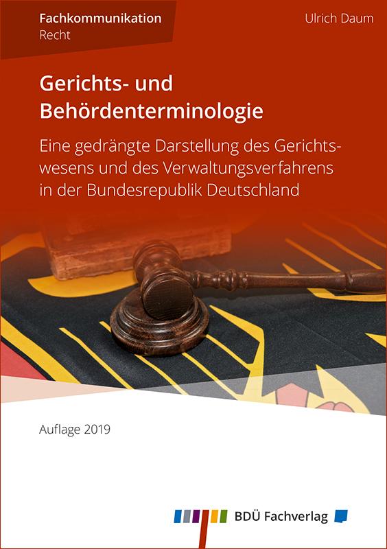 Gerichts- und Behördenterminologie 2019