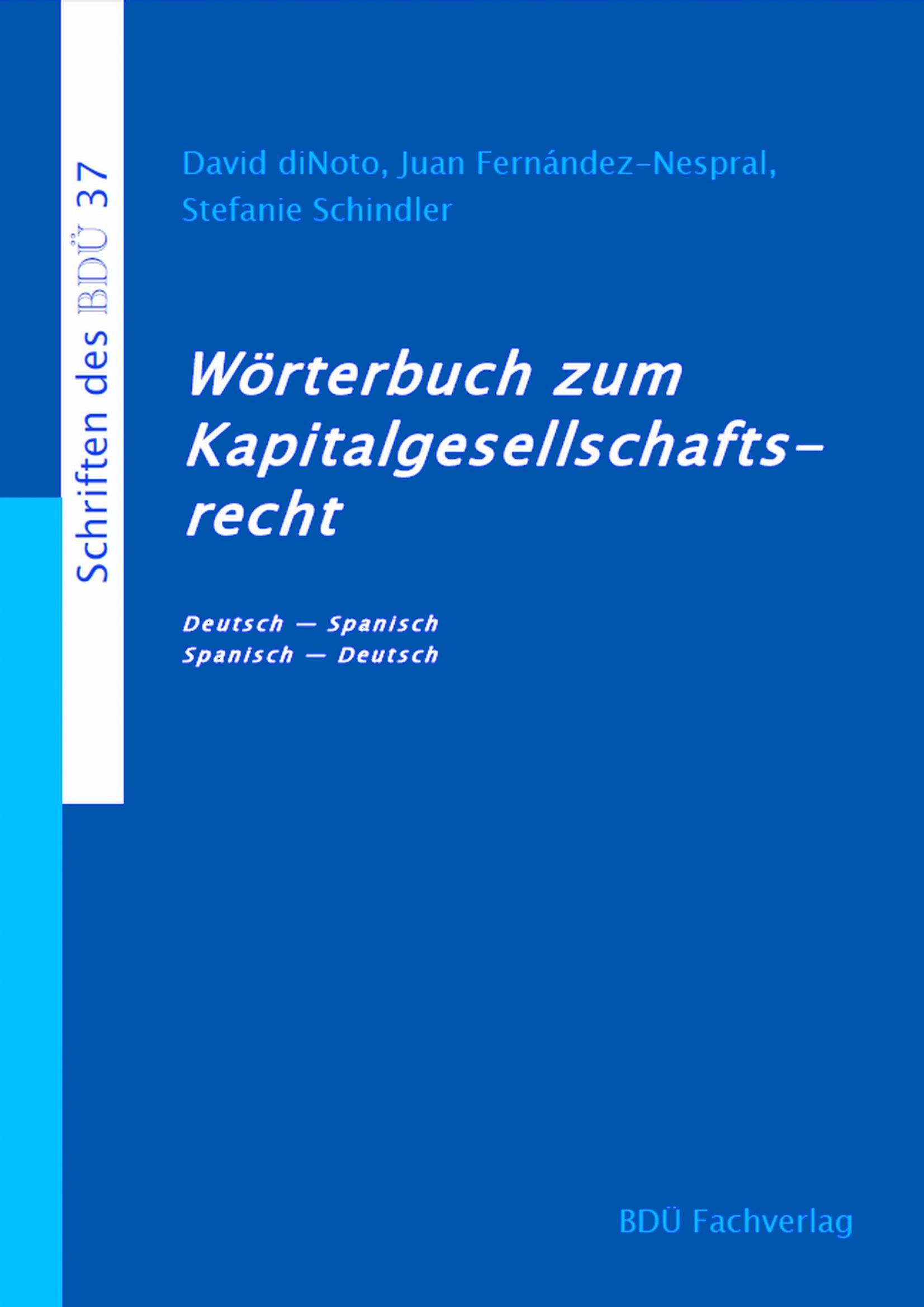 Wörterbuch zum Kapitalgesellschaftsrecht