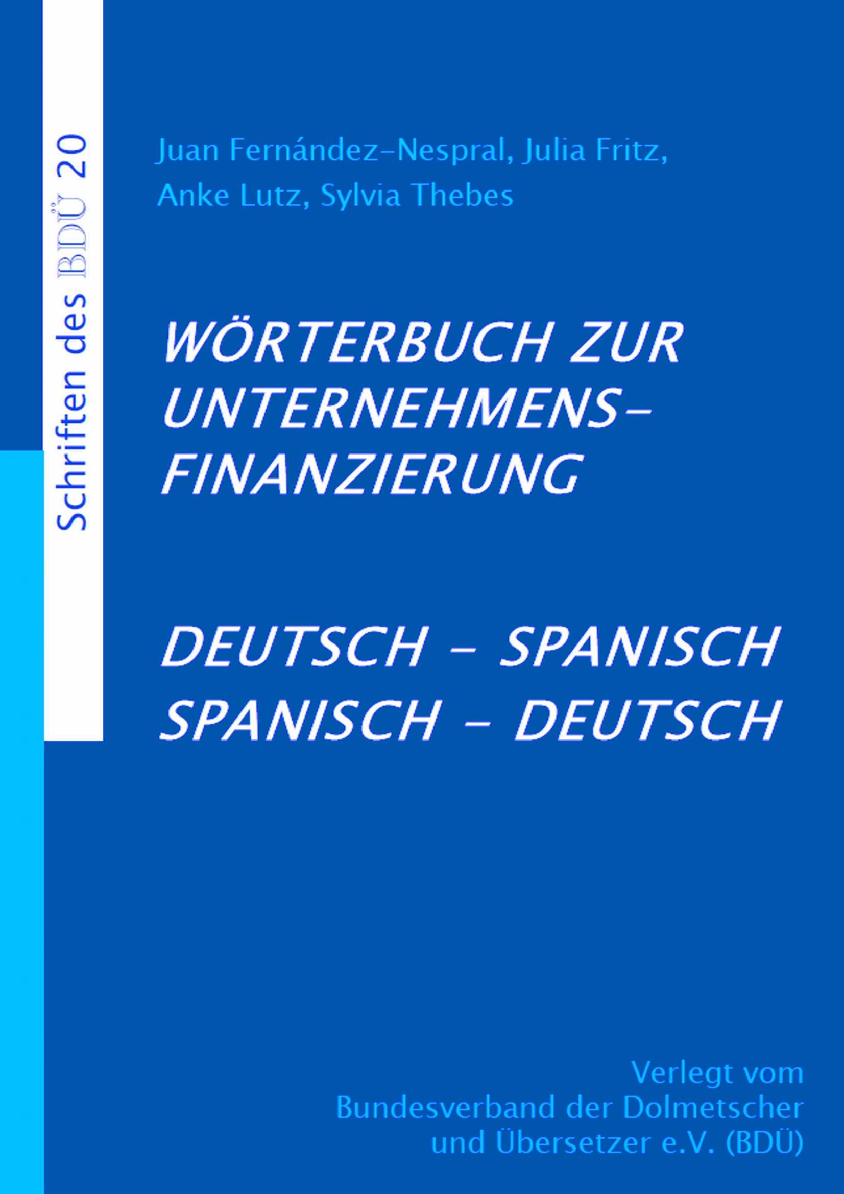 Wörterbuch zur Unternehmensfinanzierung