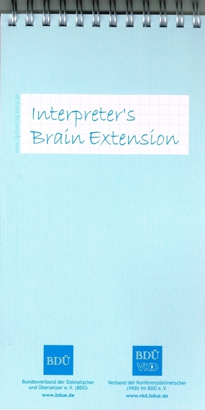 Interpreter's Brain Extension - 3 Stück